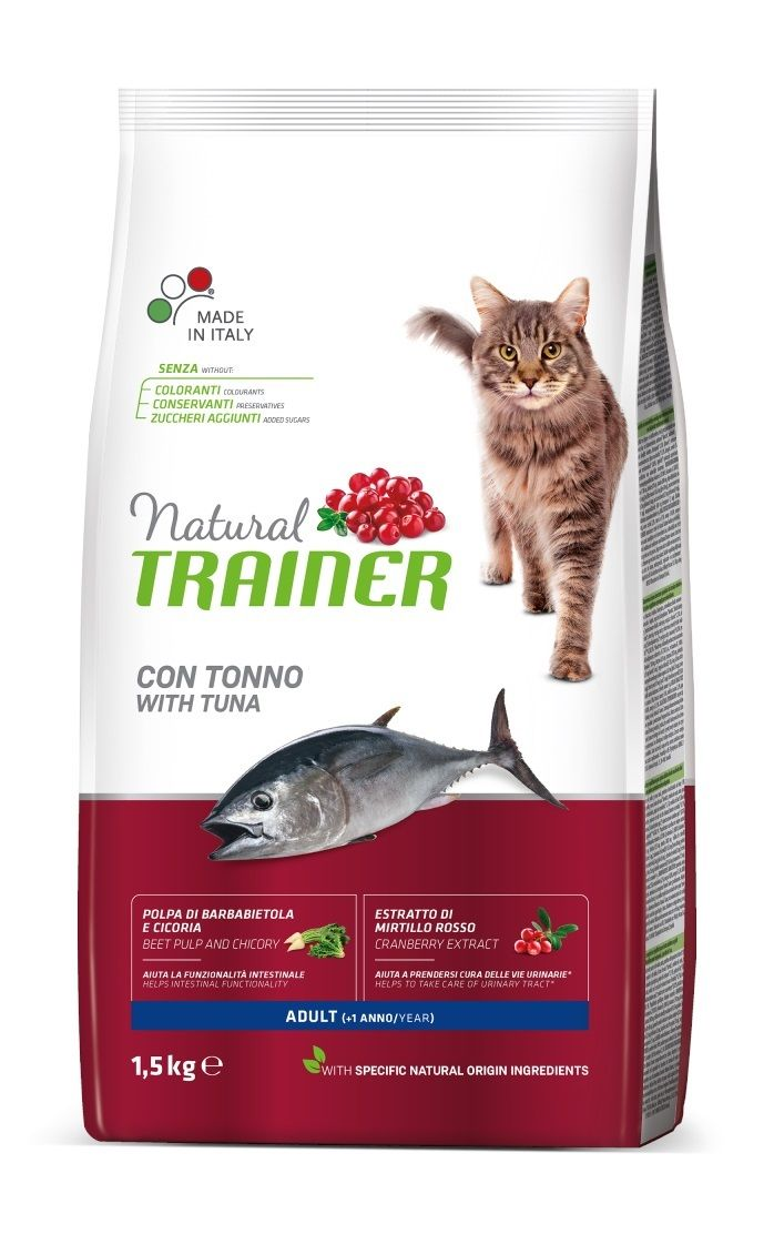 Trainer Natural Adult Cat con Tonno - secco