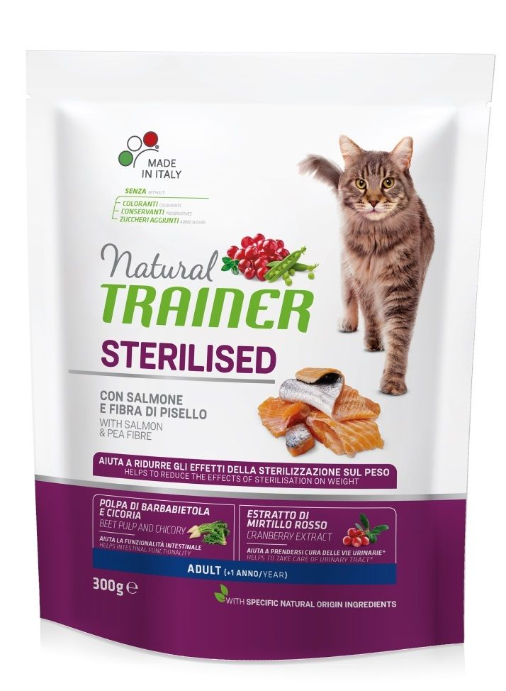 Trainer Natural Adult Sterilised (Salmone) - secco