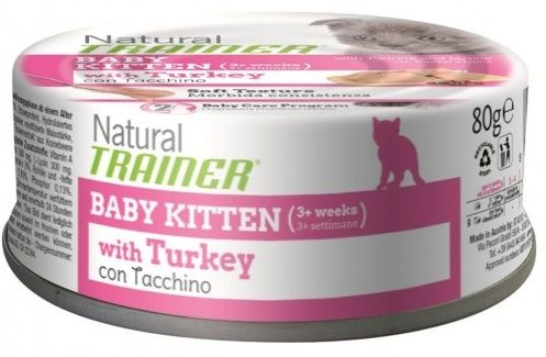 Trainer Natural Baby Kitten (Tacchino) - umido