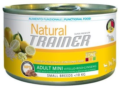 Trainer Natural Mini (Manzo e Riso) 150g - umido