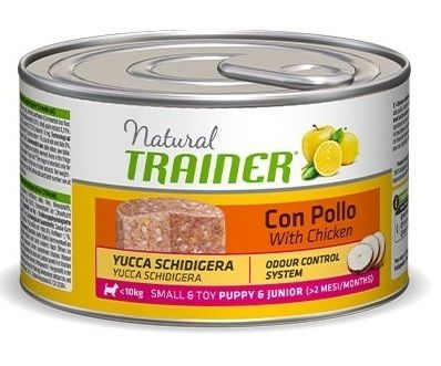 Trainer Natural Puppy&Junior Small&Toy (Pollo) - umido 150g
