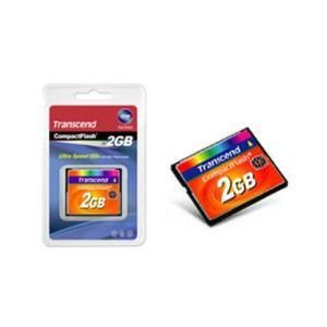 Transcend 133x CompactFlash 2 GB