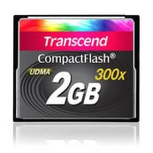 Transcend 300x CompactFlash 2 GB