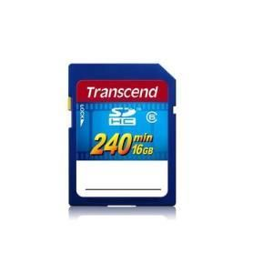 Transcend HD Video Card SDHC 16 GB