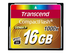 Transcend Ultimate CompactFlash 16 GB
