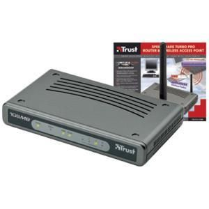 Trust SpeedShare Turbo Pro Router & Wireless Access Point
