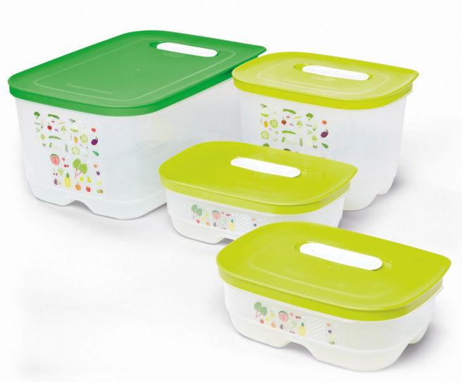 Tupperware Ventsmart contenitore frutta e verdura