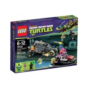 Lego Turtles 79102 Stealth Shell all'inseguimento