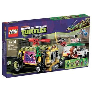 Lego Turtles 79104 Inseguimento sullo Shell Raiser