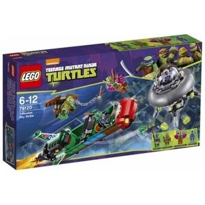 Lego Turtles 79120 T-Rawket all'attacco