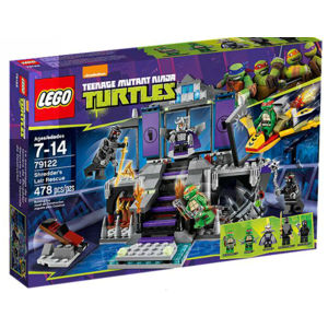 Lego Turtles 79122 Il covo di Shredder