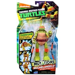 Turtles Mutations Michelangelo