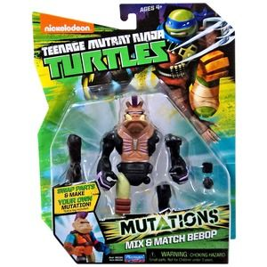 Turtles Mutations Mix & Match Bebop