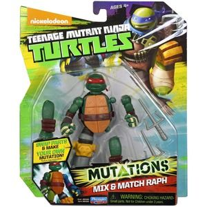 Turtles Mutations Mix & Match Raffaello