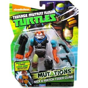 Turtles Mutations Mix & Match Tiger Claws
