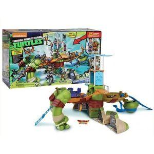 Turtles playset gigante trasformabile