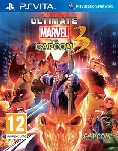 Capcom Ultimate Marvel Vs Capcom 3