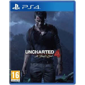 Uncharted 4 a thief s end ps4