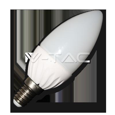 V-TAC VT-1818 Lampadina Candela LED 4W E14 A+ Bianco freddo