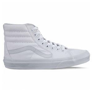 Vans SK8-Hi Classic Suede/Canvas, Sneaker a Collo Alto Unisex-Adulto, Beige (Frappe/True bianca Q9x), 34.5 EU