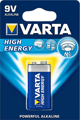 Varta High Energy 9V (1 pz)