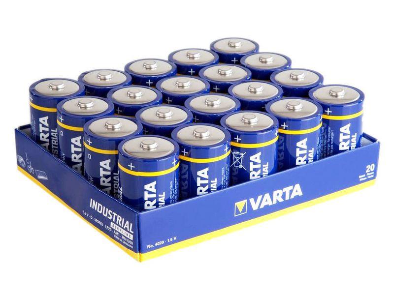 Varta Industrial D (20 pz)