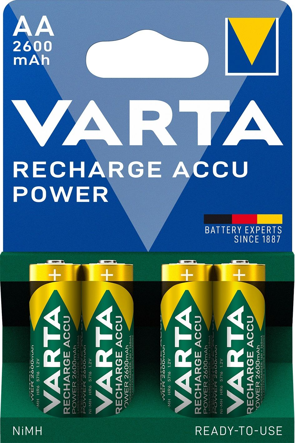 Varta Recharge Accu Power AA 2600 mAh (4 pz)