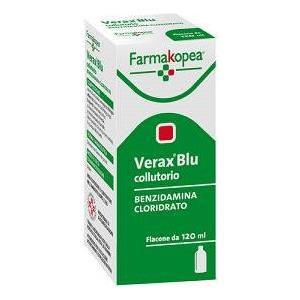 Farmakopea Verax blu colluttorio 120ml 0,15%