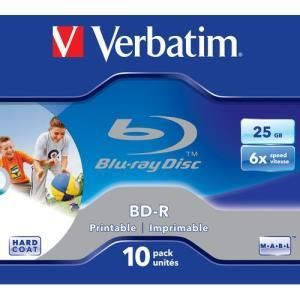Verbatim BD-R 25 GB 6x Printable (10 pcs)