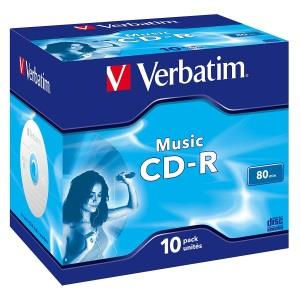 Verbatim CD-R 80 Min. (10 pcs)