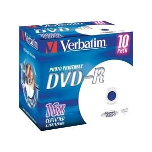 Verbatim CD-R 80 Min. 16x (10 pcs)