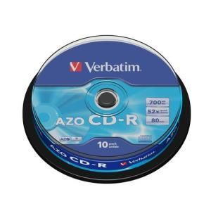 Verbatim CD-R 80 Min. 48x (10 pcs cakebox)