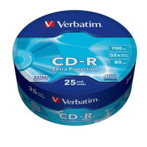 Verbatim CD-R 80 Min. 52x (25 pcs)