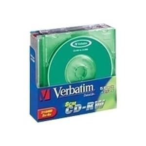 Verbatim Colours CD-RW 24 Min. 4x (5 pcs)