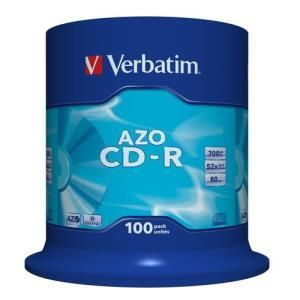 Verbatim DataLifePlus CD-R 80 Min. 52x (100 pcs cakebox)