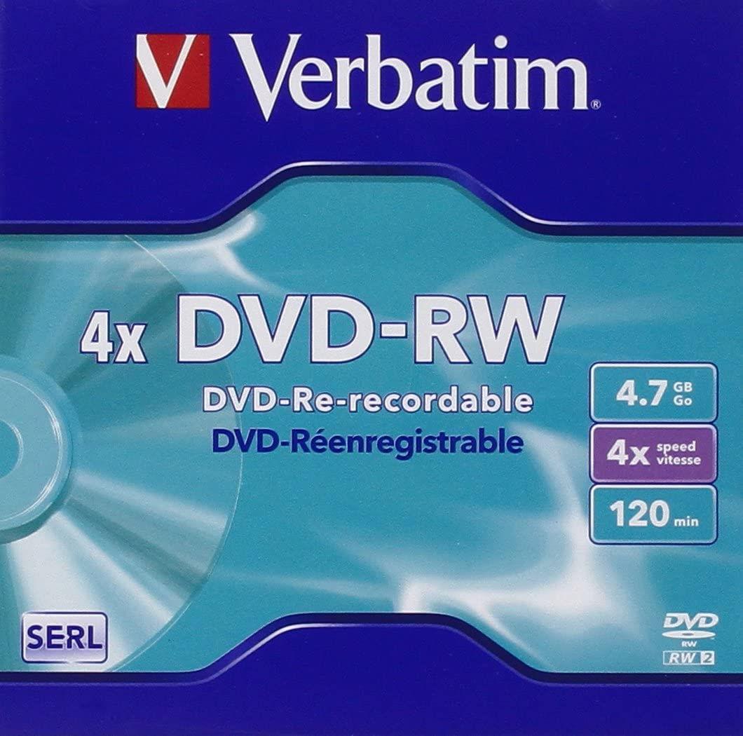 Verbatim DataLifePlus DVD-RW 4.7 GB 4x (5 pcs)