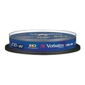 Verbatim DataLifePlus Hi-Speed CD-RW 80 Min. 24x (10 pcs)