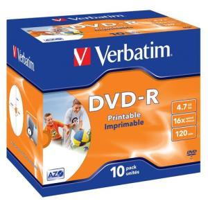 Verbatim DVD-R 4.7 GB 16x (10 pcs)