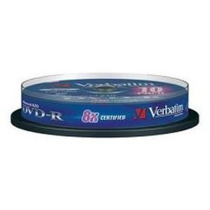 Verbatim DVD+R 4.7 GB 8x (10 pcs cakebox)
