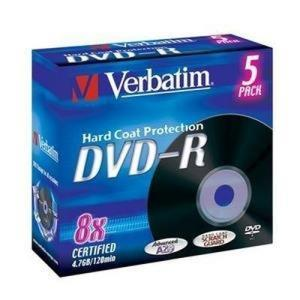 Verbatim DVD-R 4.7 GB 8x (5 pcs)