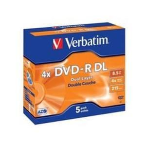 Verbatim DVD-R DL 8.5 GB 4x (5 pcs)