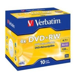 Verbatim DVD+R 4.7 GB 4x (10 pcs) Printable
