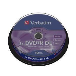 Verbatim DVD+R DL 8.5 GB 8x (10 pcs cakebox)