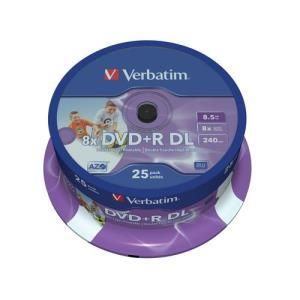 Verbatim DVD+R DL 8.5 GB 8x (25 pcs)