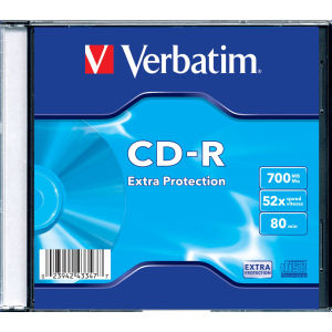 Verbatim Extra Protection CD-R 80 Min. 52x