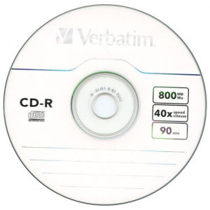 Verbatim Extra Protection CD-R 90 Min.