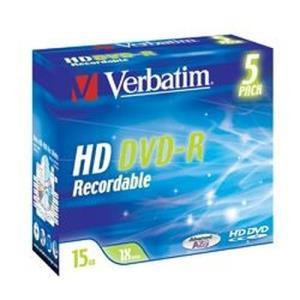 Verbatim HD DVD-R 15 GB 1x (5 pcs)