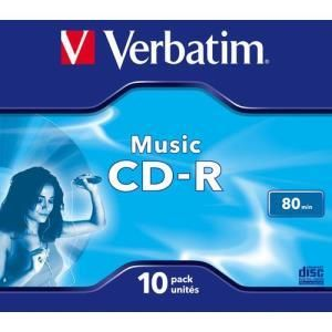 Verbatim Live It! CD-R 80 Min. 16x (10 pcs)