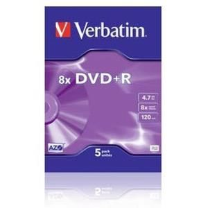Verbatim Live It! DVD+R 4.7 GB 2x (5 pcs)