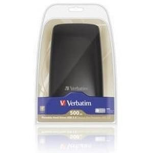 Verbatim Portable Hard Drive Colour Edition 500 GB